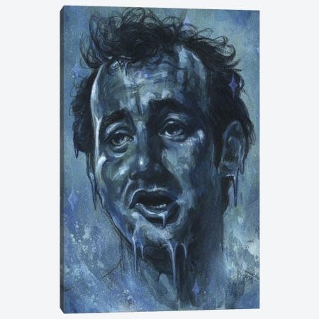 Chill Murray Canvas Print #BKT40} by Black Ink Art Canvas Artwork