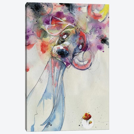 Color Outside Your Lines Canvas Print #BKT41} by Black Ink Art Canvas Art