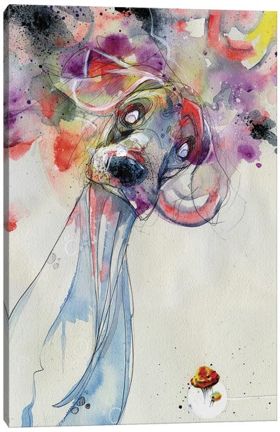 Color Outside Your Lines Canvas Art Print