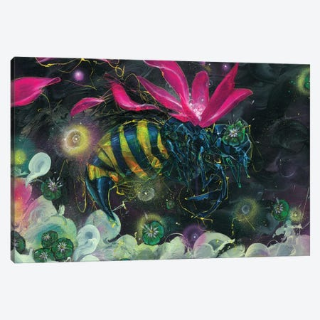 Discovery Canvas Print #BKT43} by Black Ink Art Canvas Wall Art