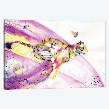 Fashionably Late Canvas Print #BKT49} by Black Ink Art Canvas Artwork