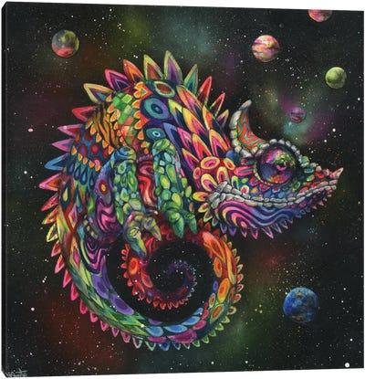 Rainbow Herbert Canvas Art Print