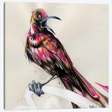 Grackle III 3-Piece Canvas #BKT55} by Black Ink Art Canvas Wall Art