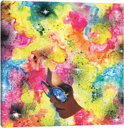 Rainbow Piff Canvas Art Print
