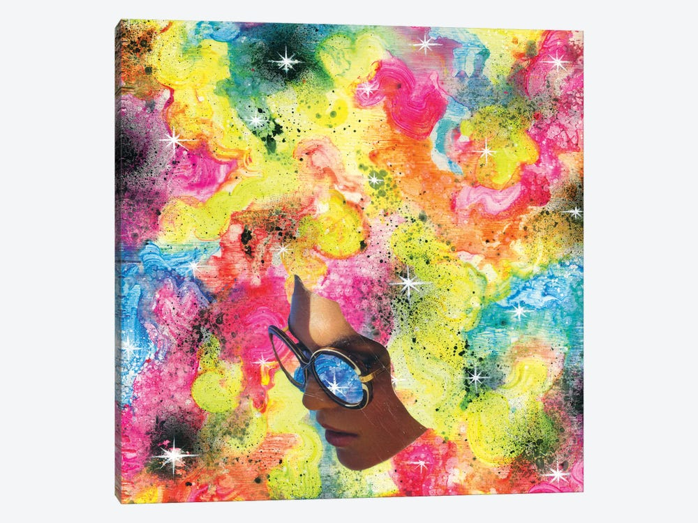 Rainbow Piff 1-piece Canvas Print