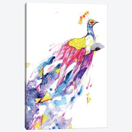 Loose Lucy Canvas Print #BKT60} by Black Ink Art Canvas Wall Art