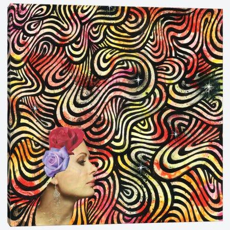 Ebb & Flow Canvas Print #BKT67} by Black Ink Art Art Print