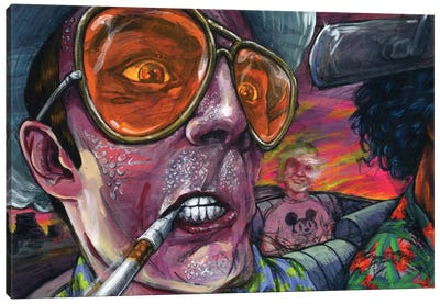 Fear n' Loathing Canvas Art Print