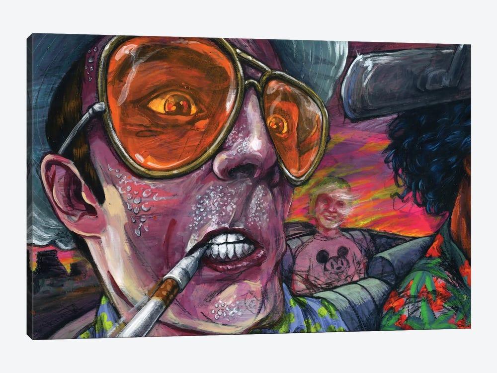 42fdcbc04106 Fear n' Loathing Canvas Print by Black Ink Art | iCanvas