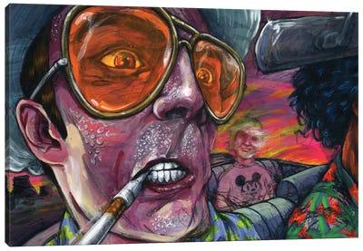 Fear n' Loathing Canvas Art Print