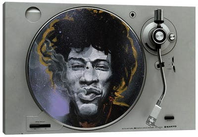 Jimi Canvas Art Print