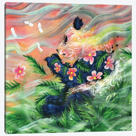 Midsummer's Eve Canvas Print #BKT75} by Black Ink Art Canvas Wall Art