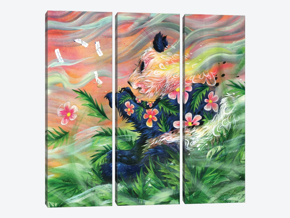 Midsummer's Eve 3-piece Canvas Print