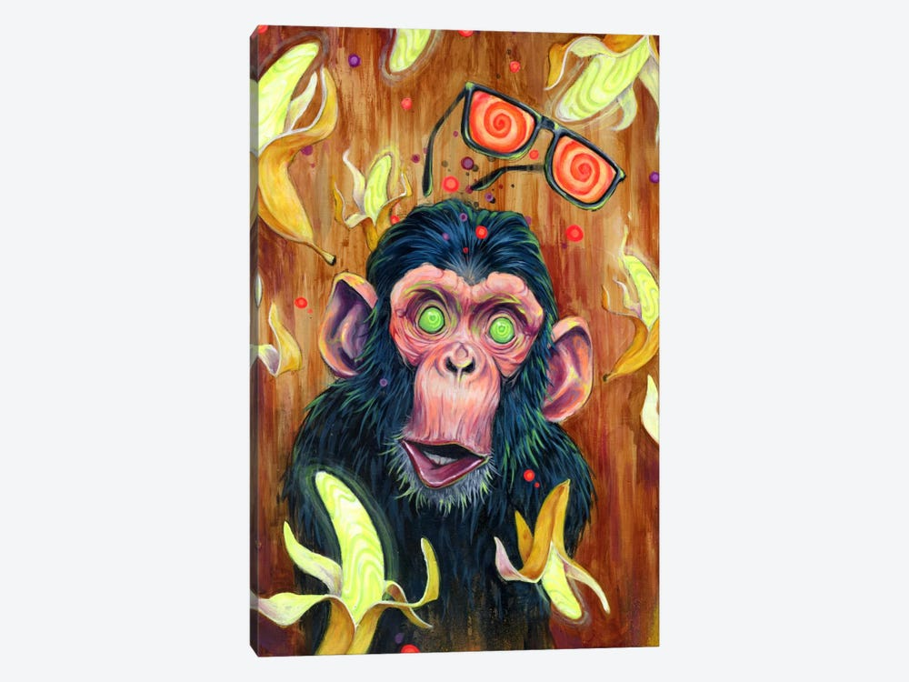 Banana Land by Black Ink Art 1-piece Canvas Art Print