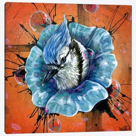 Blue Dream Canvas Print #BKT83} by Black Ink Art Canvas Wall Art