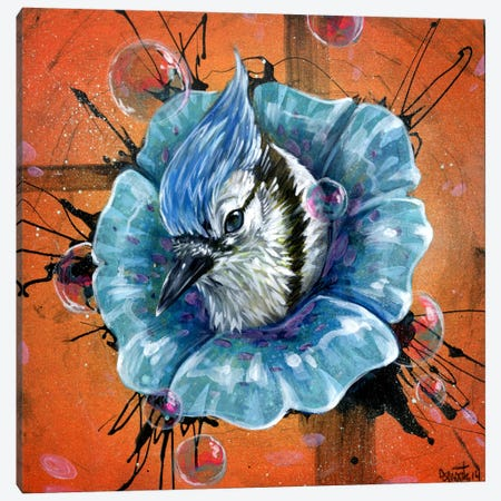 Blue Dream Canvas Print #BKT83} by Black Ink Art Canvas Wall Art