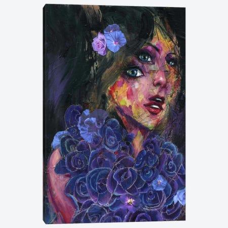 Bluebell Canvas Print #BKT84} by Black Ink Art Canvas Print