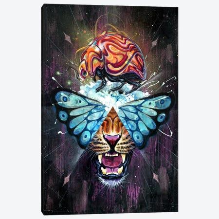 Dream Toast Canvas Print #BKT88} by Black Ink Art Canvas Art