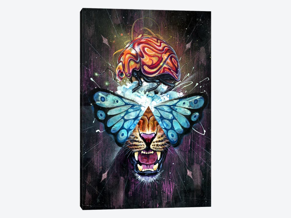 Dream Toast by Black Ink Art 1-piece Canvas Print