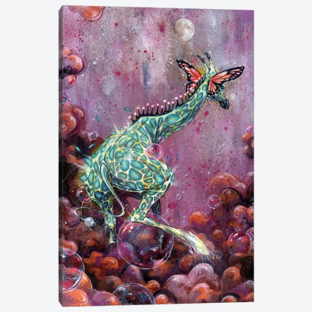 Riff Raffe Canvas Print #BKT8} by Black Ink Art Canvas Wall Art