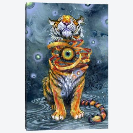 Eyes Wide Shut Canvas Print #BKT92} by Black Ink Art Canvas Art Print