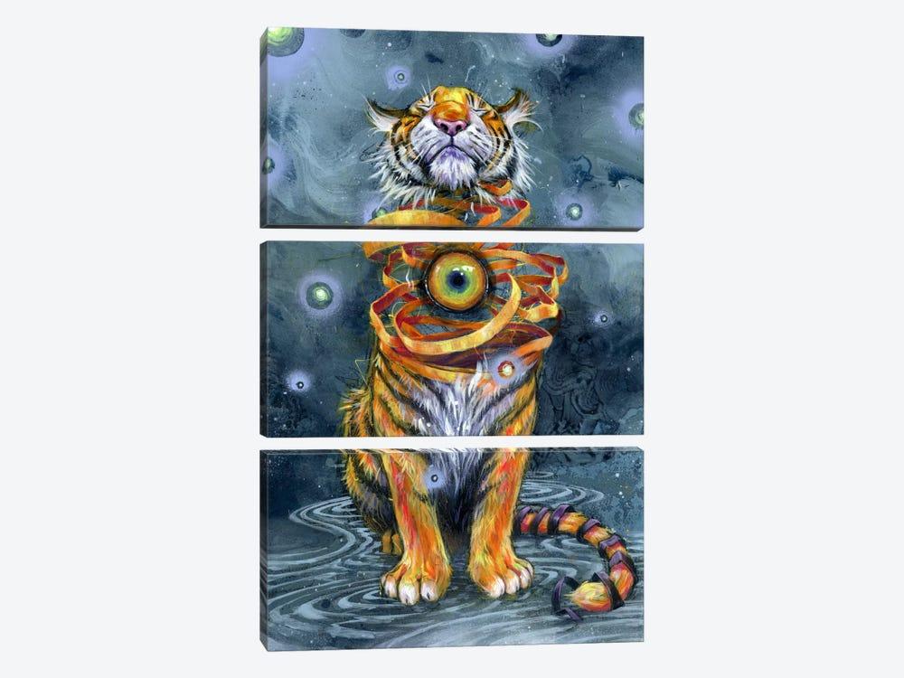 Eyes Wide Shut by Black Ink Art 3-piece Canvas Artwork