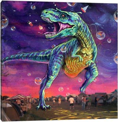 Festasaurus Rex Canvas Art Print