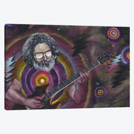 Garcia Canvas Print #BKT94} by Black Ink Art Canvas Art