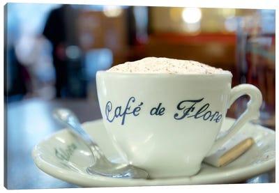 Café de Flore Canvas Art Print