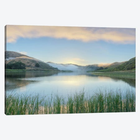 Crescent Beach Calm IV Canvas Print #BLA17} by Alan Blaustein Canvas Wall Art