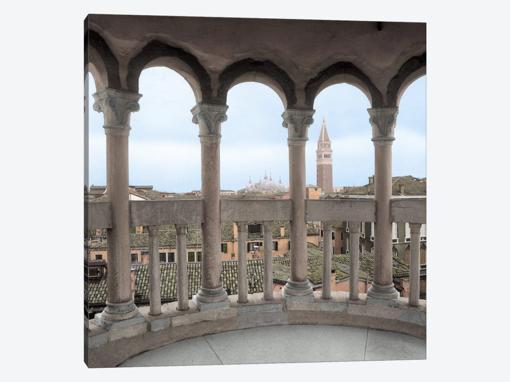 Arches With Campanile VIsta by Alan Blaustein 1-piece Art Print