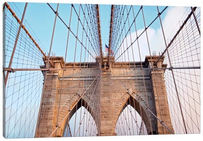 Brooklyn Bridge II Canvas Print #BLA3