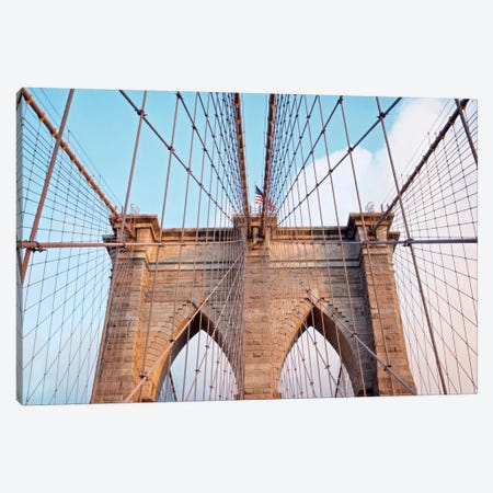 Brooklyn Bridge II Canvas Print #BLA3} by Alan Blaustein Art Print