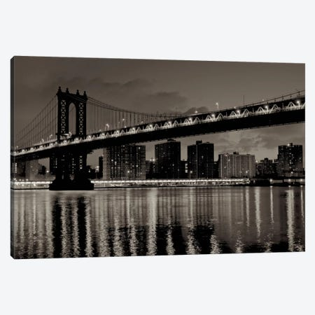 Manhattan Canvas Print #BLA43} by Alan Blaustein Canvas Artwork