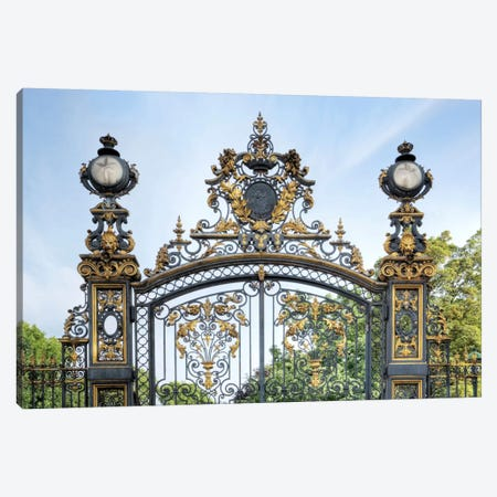 Park Monceau Gates Canvas Print #BLA48} by Alan Blaustein Canvas Art