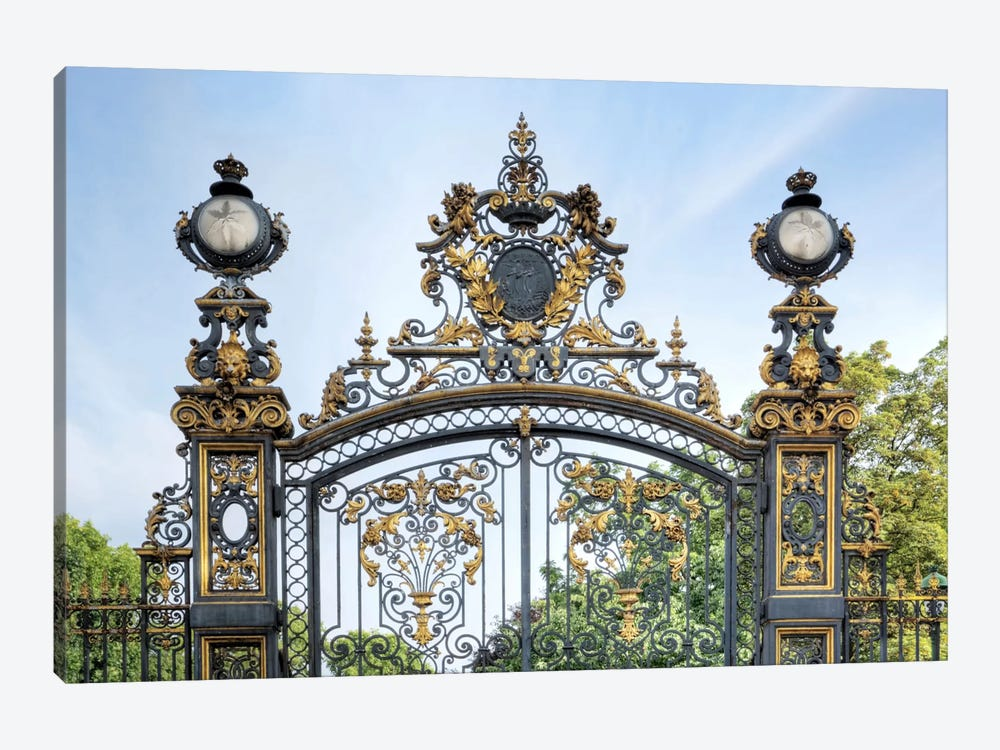 Park Monceau Gates by Alan Blaustein 1-piece Canvas Artwork