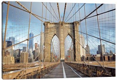 Brooklyn Bridge III Canvas Print #BLA4