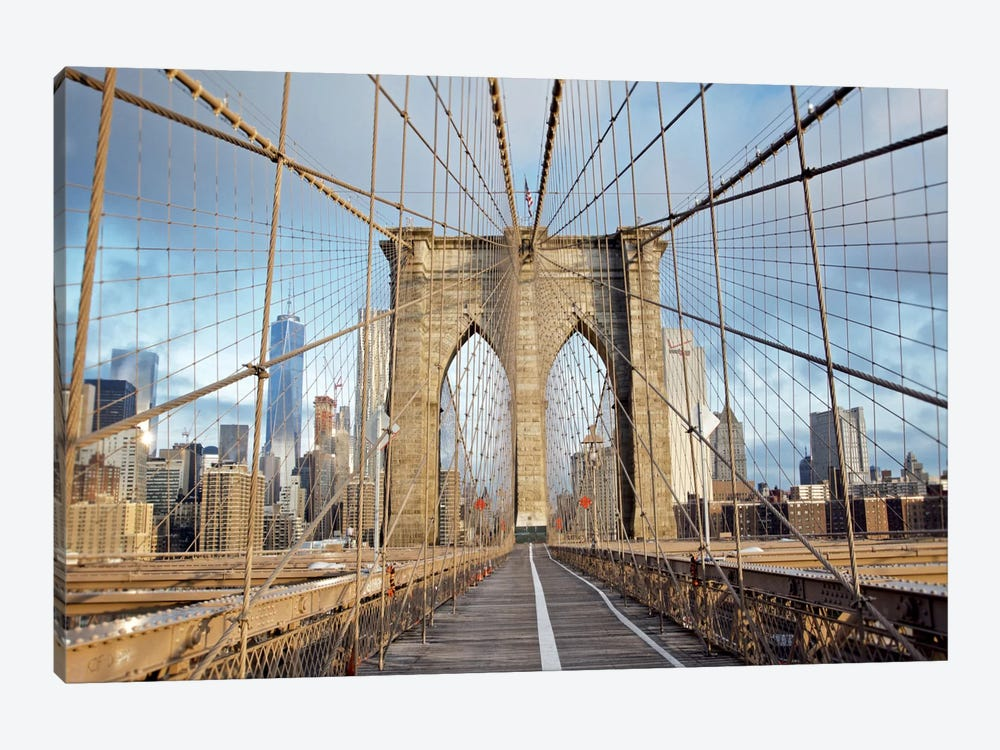 Brooklyn Bridge III by Alan Blaustein 1-piece Canvas Art