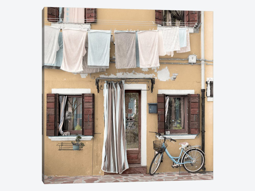 Venetian Bicicletta I 1-piece Canvas Art