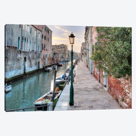 Venetian Passeggiata Canvas Print #BLA58} by Alan Blaustein Art Print