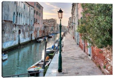 Venetian Passeggiata Canvas Art Print