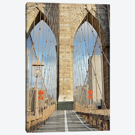 Brooklyn Bridge IV Canvas Print #BLA5} by Alan Blaustein Canvas Wall Art