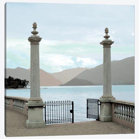 Harbor Garden Gates Canvas Print #BLA60} by Alan Blaustein Canvas Artwork