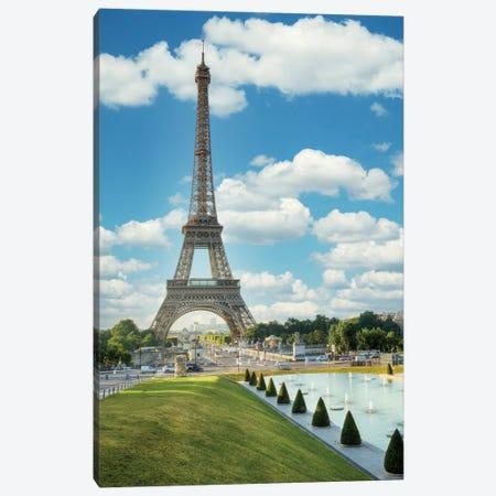 Eiffel Tower View III Canvas Print #BLA69} by Alan Blaustein Canvas Artwork
