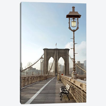 Brooklyn Bridge V Canvas Print #BLA6} by Alan Blaustein Canvas Artwork