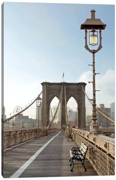 Brooklyn Bridge V Canvas Print #BLA6