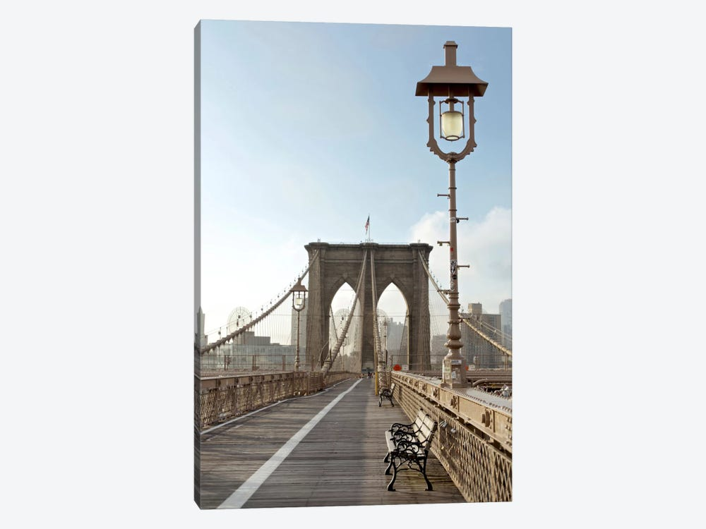 Brooklyn Bridge V by Alan Blaustein 1-piece Canvas Art
