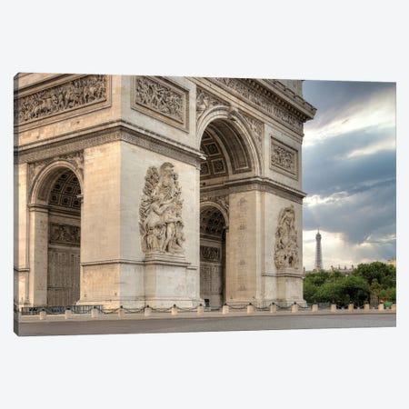 Paris Cityscape I Canvas Print #BLA70} by Alan Blaustein Canvas Print