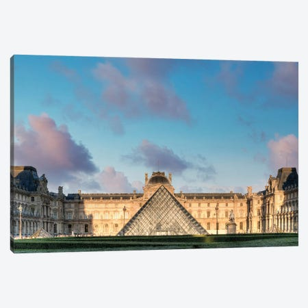 The Louvre Palace Museum I Canvas Print #BLA71} by Alan Blaustein Art Print