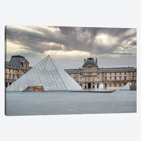 The Louvre Palace Museum II Canvas Print #BLA72} by Alan Blaustein Canvas Art Print